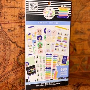 "The Happy Planner ""Bookish"" Sticker book"